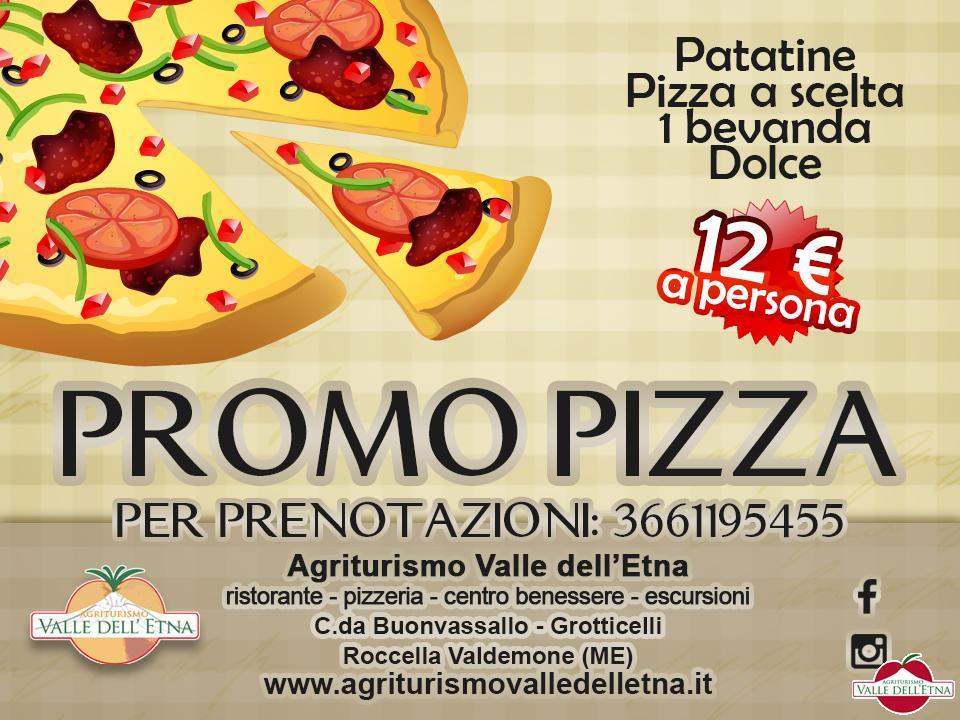 PROMO PIZZA IN AGRITURISMO